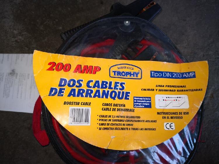 cables / pinzas para arranque de coches motos...