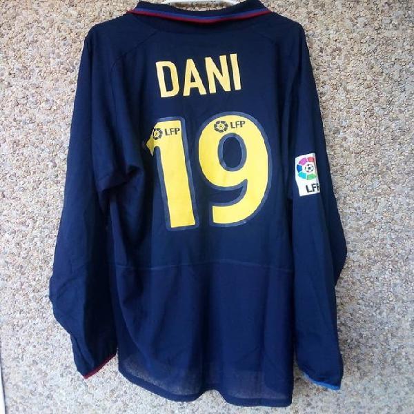Camiseta matchworn fc barcelona dani