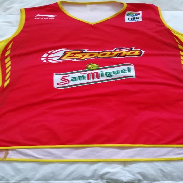 Camiseta selección española baloncesto