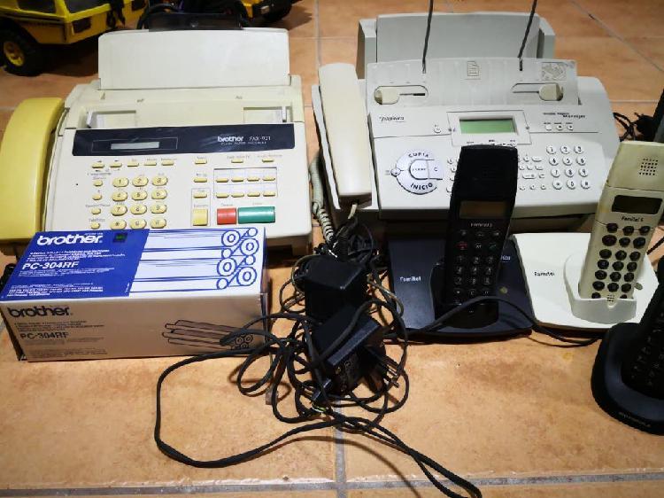 Fax televisión ordenador telefonía