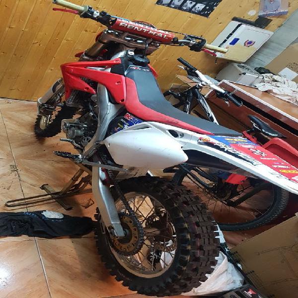 Honda crf 450 matriculada