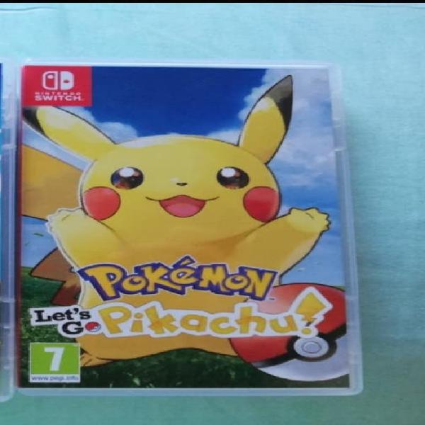 Pokemon lest's go pikachu! vendo o cambio