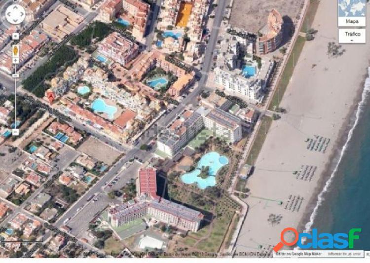 Atico en roquetas, urbanizacion 2º linea de playa 77 metros, garaje, aire acondicionado, dos piscina