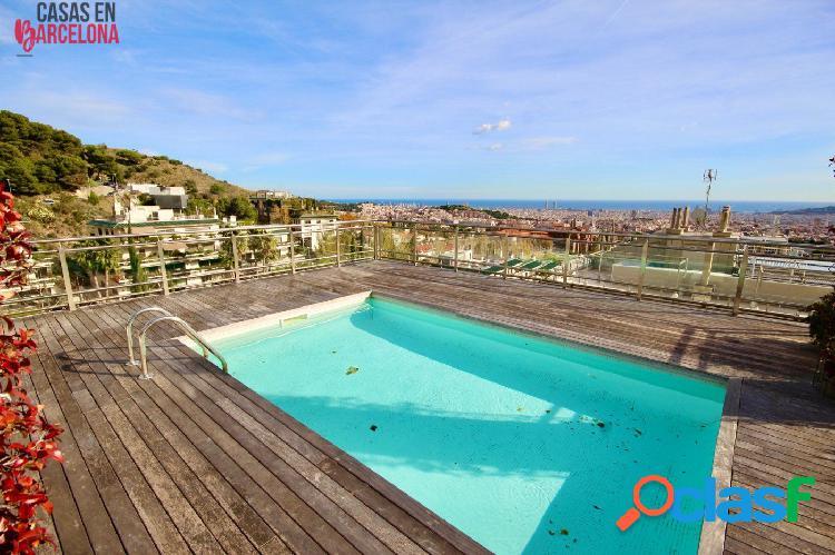Único ático dúplex con piscina privada en conjunto residencial de torre vilana