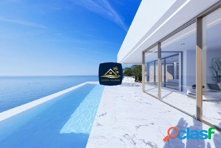 Exclusiva residencia de lujo en altea frente al mar · playa arena | 3 dorm · 2 garajes · vistas mar
