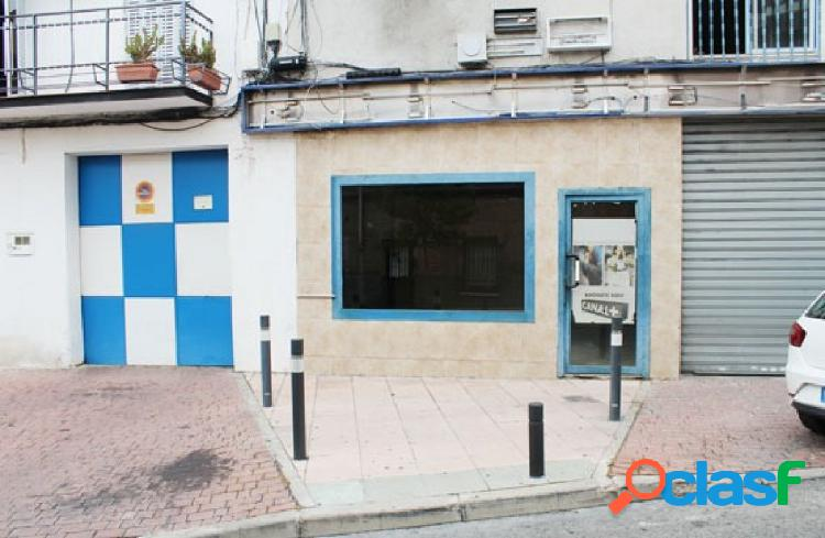 Oportunidad de banco. local comercial en venta junto a plaza rosa chacel, alcobendas.