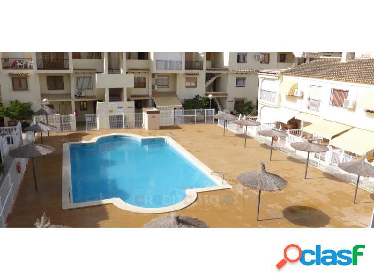 Apartamento reformado urbanización bahía, puerto de mazarrón