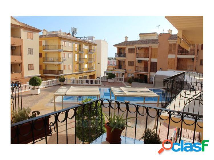 Apartamento impecable en urba con piscina puerto de mazarrón