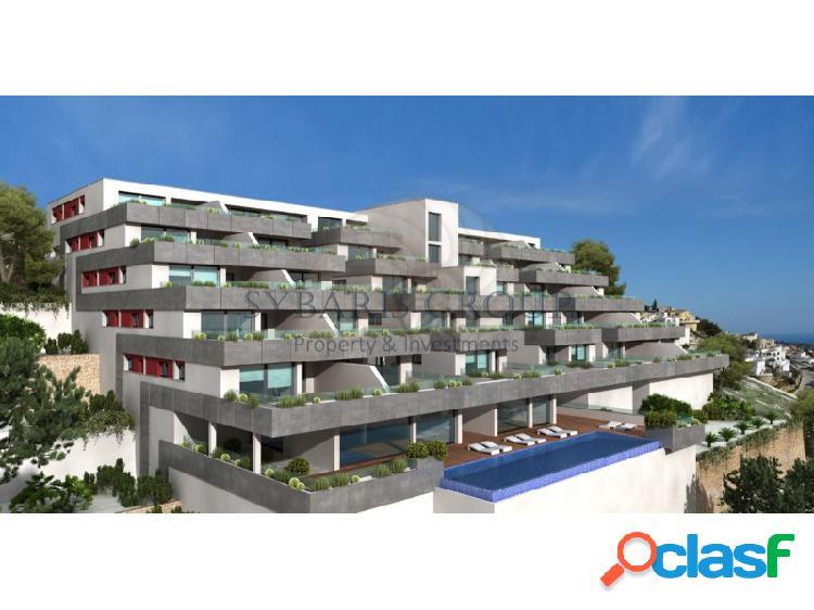Apartamento de lujo desde 3 dormitorios con magnificas vistas al mar mediterraneo, cumbres del sol. costa blanca