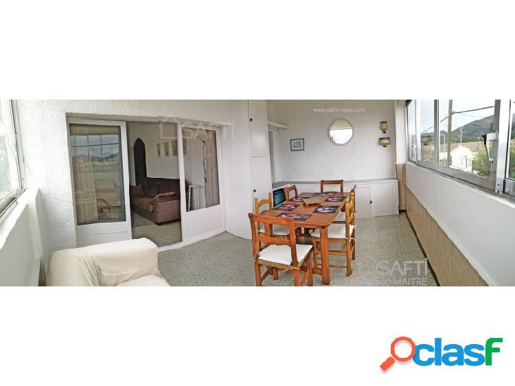 Piso 80m² 2 dormitorios, gran terassa, parking, 1,5 km del mar