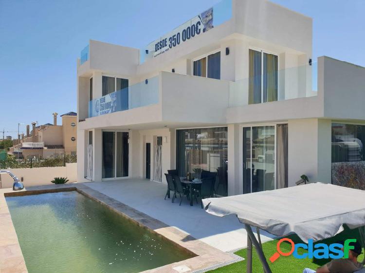 Ewe - modernas villas en villamartin, orihuela costa