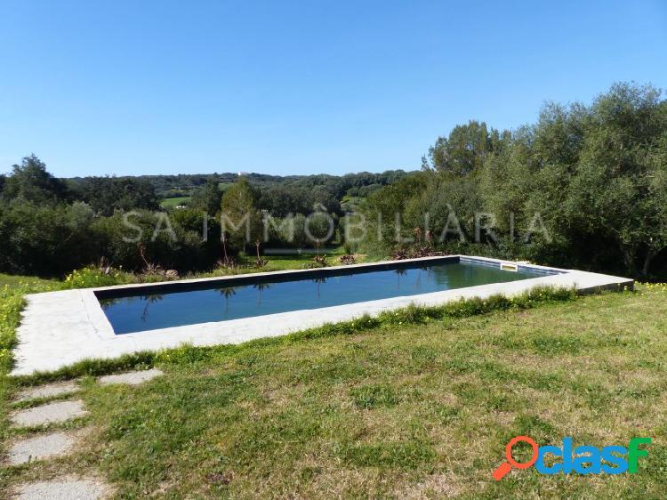 Chalet en el campo con piscina