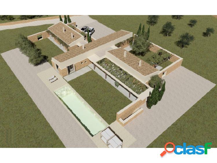 Hermoso terreno rustico con proyecto de construcción aprobado en vilafranca!