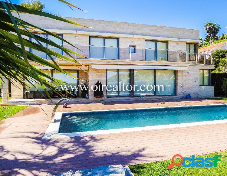 Villa lujosa en venta en la urbanización privada Santa Maria de Llorell, Tossa de Mar 2