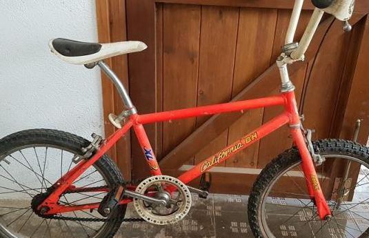 Bicicleta bh california xl2 naranja