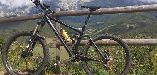 Bici mtb canyon all mountain