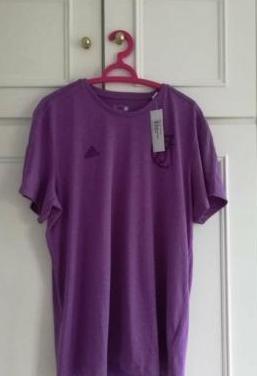 Camiseta adidas oficial r madrid - xl