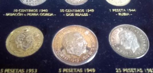 Colección monedas