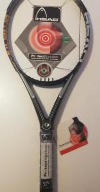 Raqueta tenis head protect system