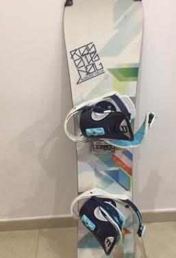 Tabla de snowboard fijaciones
