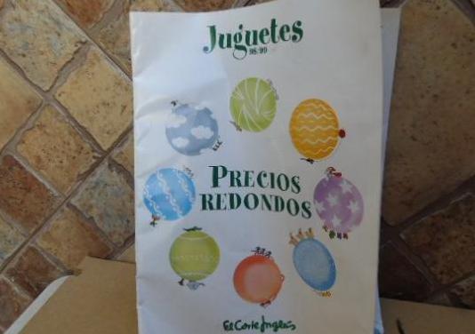 Folleto juguetes 98/99 del corte ingles precios re