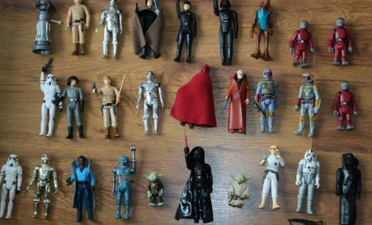 Star wars vintage figuras kenner palitoy