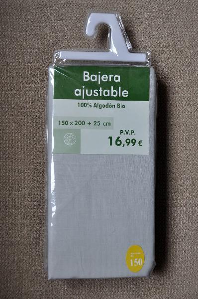 A estrenar) sábana bajera gris cama 150