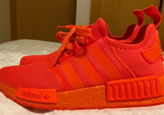 """Adidas nmd r1 solar red """"nuevos"""""""