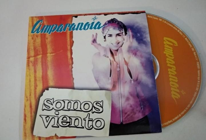 Amparanoia somos viento cd single 2002 promo