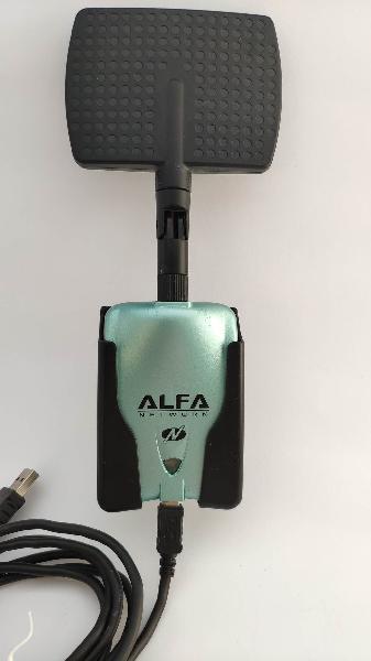 Alfa network awus036nh antena adaptador wifi usb