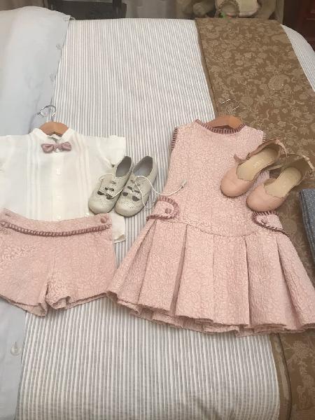 Conjunto niño y niña bodas y eventos