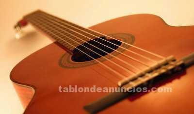 Clases de guitarra individuales y en grupo