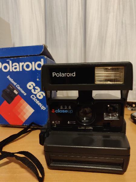 Cámara polaroid 636 close up de 1995