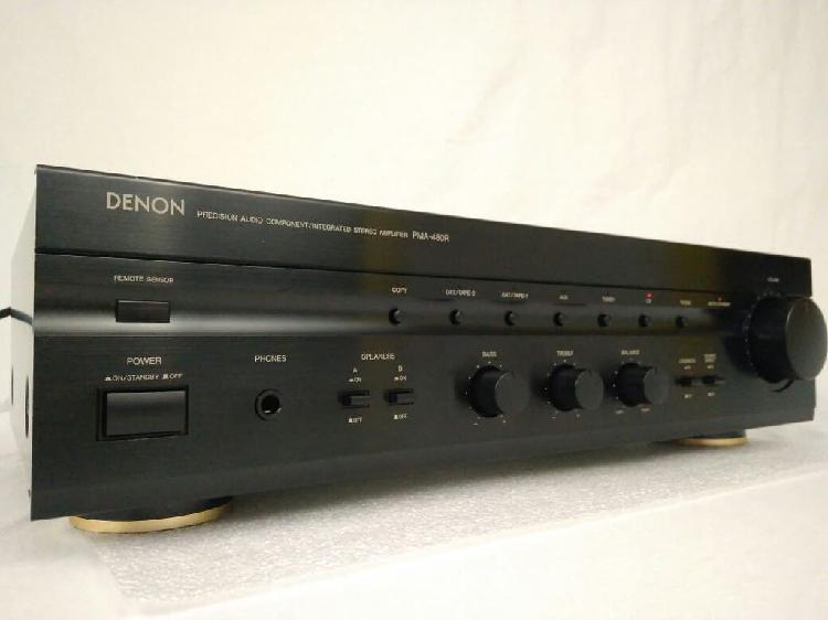 Denon pma-480r amplificador