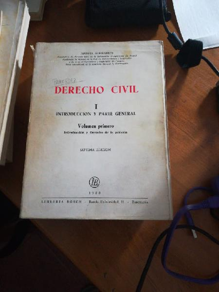 Derecho civil 3 tomos