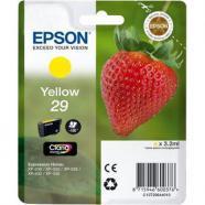 Epson cartucho t2984 amarillo, original de la marca epson