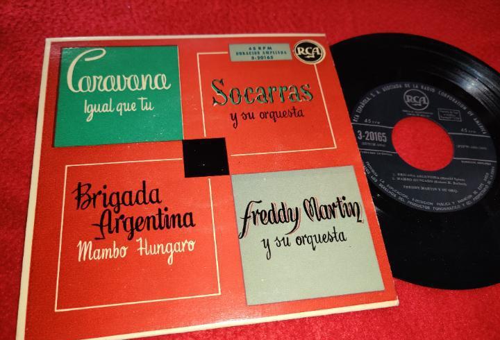 Freddy martin+socarras caravana/igual que tu/brigada