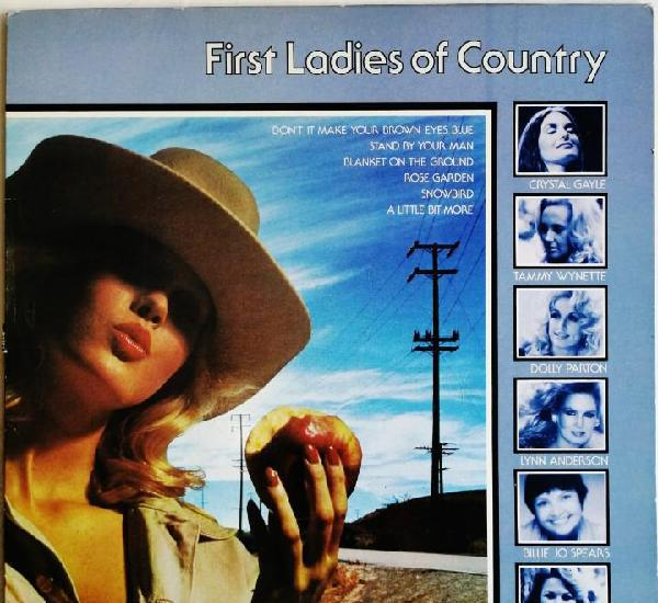 First ladies of country, cbs s cbs 10018, 10018