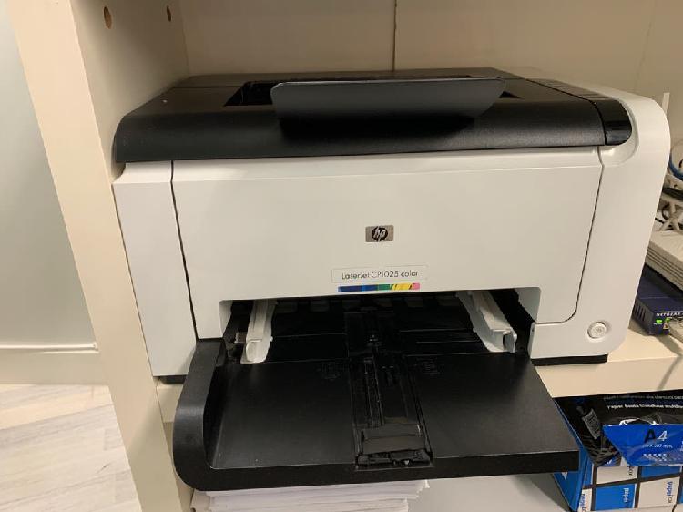 Impresora láser color con tonner