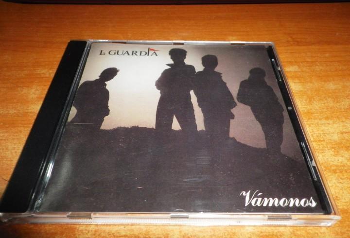 La guardia vamonos cd album del año 1990 contiene 10 temas