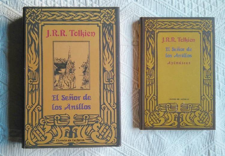 Libros el señor de los anillos + apendices
