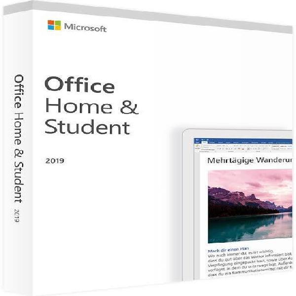 Licencia office 2019 home/student original