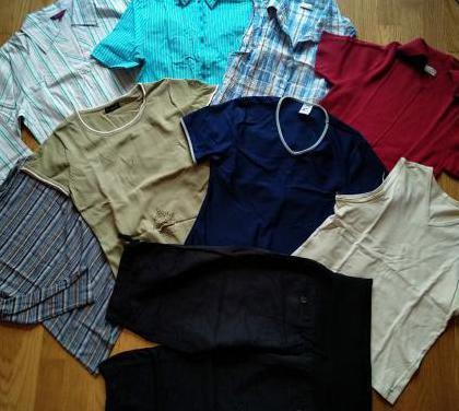 Lote 9 prendas talla m talla 40 varios ropa