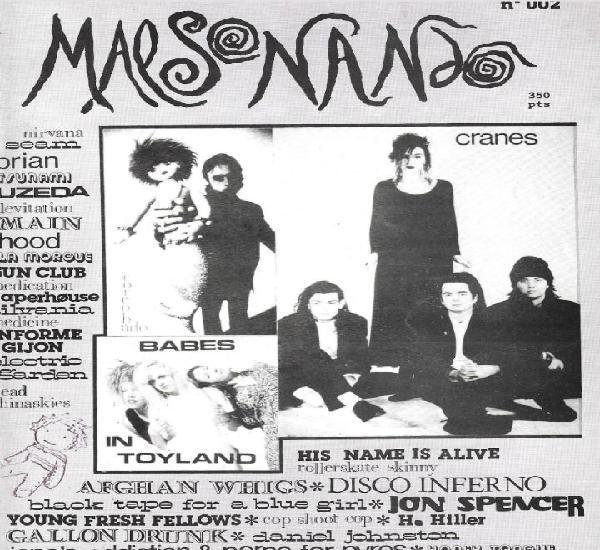 Malsonando nº 2 (fanzine de musica indie, años 90)