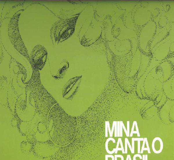 Mina. mina canta o brasil. lp. made in italy