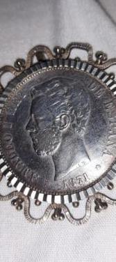 Moneda 5 pesetas amadeo rey de españa