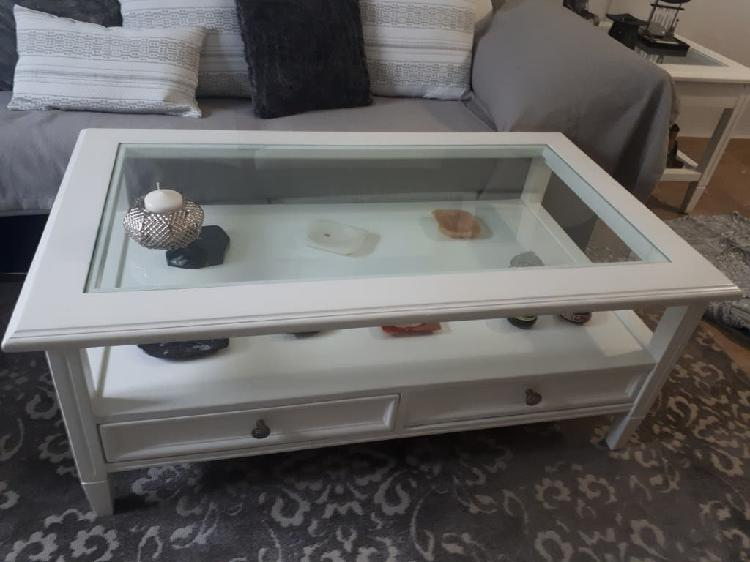 Mesa salón madera lacada