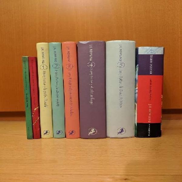 Regalo harry potter colección completa de libros - acordado