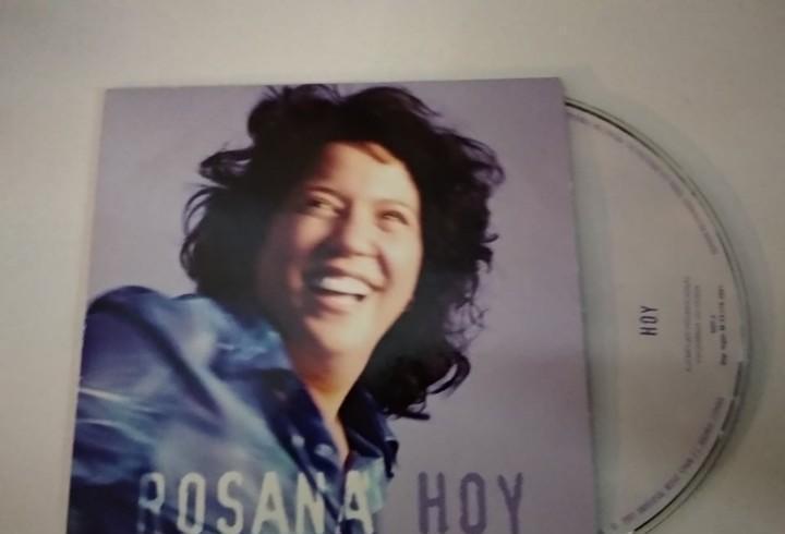 Rosana - hoy - promo cd single carton edicion para radios