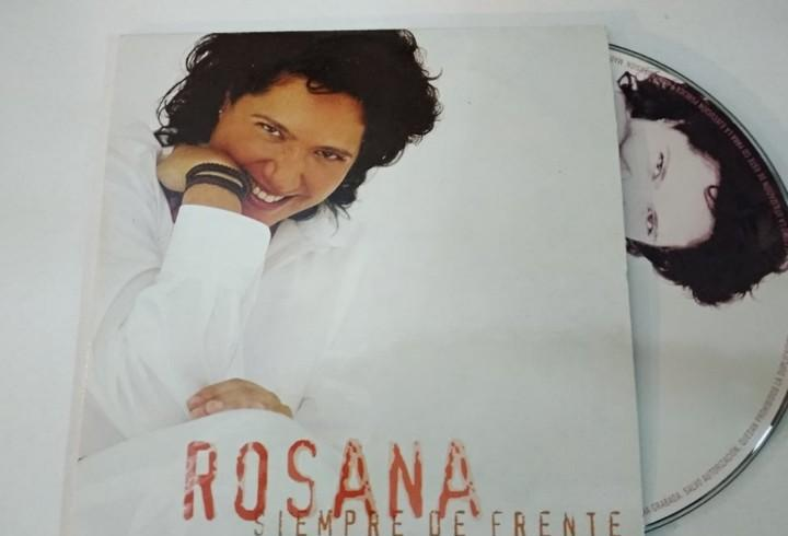Rosana - siempre de frente (cd single formato carton) poco